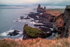 Londrangar, Iceland (Anne McKinnell) Tags: londrangar lndrangar snaefellsnes snfellsnes iceland ocean nature