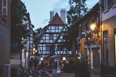 town lights. (Nicole Favero) Tags: giallo strasbourg nikon d5000 camera love amazing mine cute awesome forever focus cool crazy bridge nicolefavero photography travel explore throwback germany france places vertical tumblr vintage nature woods adventure