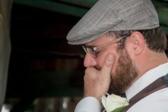 Wedding Day Tears (mzickef2) Tags: groom cry crying cried man portrait candid wedding formal