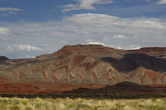 Native American pottery in the hills! (Laura Zirino) Tags: verycoolhills mexicanhat utah southwest