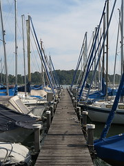 Stangerlwald am Chiemsee (Waldrebe) Tags: chiemsee segelboot sailing boat bavaria bayern
