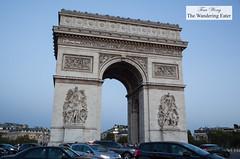 Arc de Triomphe (thewanderingeater) Tags: paris france arcdetriomphe landmark