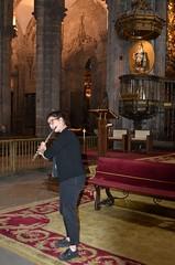 Ensayo Irene Parada en la Catedral