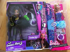 FINALLY GOT Ghouls Rule Clawdeen (Saturday Morning ToyZ) Tags: new monster high barbie fashionista rule 2012 ghouls 2013 clawdeen