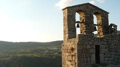 Campanario sobre el valle (II) (D. Moreno) Tags: sunset bells atardecer dusk valle belltower valley campanario campanas villamiel pwpartlycloudy