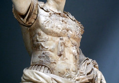 Augustus of Primaporta, detail with chest