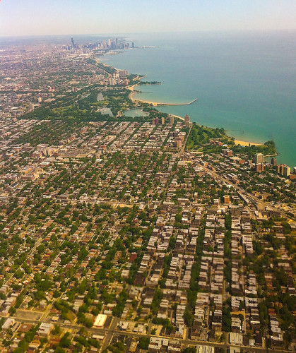 South Shore from the air