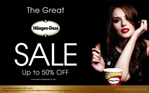 The Great Haagen-Dazs Sale