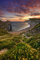 107.2012 - DurdleDoor (Pawel Tomaszewicz) Tags: door camera uk sunset wallpaper england sky colors beautiful clouds photoshop sunrise canon eos europe foto view angle wide wideangle dorset olympic fotografia weymouth hdr poole hdri anglia pawel durdle olimpiada chmury photomatix greatphotographers wyspa wyspy tomaszewicz paweltomaszewicz