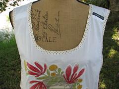 label (calamity kim) Tags: fabriccollage rawedge shabbychicapron calamitykimplayclothessmockapron