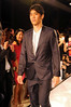 Shinji Kagawa Manchester United football players pose on the catwalk during a Hublot Charity Dinner and Fashion Show event in aid of the MU Foundation at Shangri-La Hotel Shanghai, China
