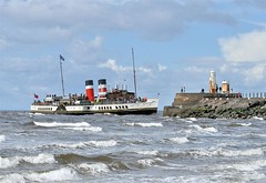 WAVERLEY, Paddle Steamer, Ayr (Time Out Images) Tags: clyde paddle ayr steamer waverley firth of ayrshirecoast