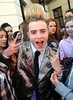 Jedward get mobbed outside Universal Music Offices