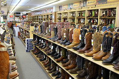 Langston's...We Sell...BOOTS! - Stockyards City - Oklahoma City, OK (tossmeanote) Tags: old city west oklahoma leather canon geotagged eos cowboy boots styles cowgirl various ok 2012 24105 stockyards caboy stockyard 60d stockyardcity tossmeanote