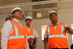 Governor Eddie Calvo and Contractors