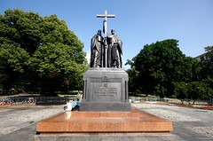 Monument to Cyril and Methodius, Kitay Gorod, Moscow (Bart's Dad) Tags: monument moscow cyril methodius gorod kitay