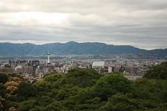 Kyoto from Kiyomizu Temple (Alejandro Muiz Delgado) Tags: japan temple kyoto religion shinto shintoism sintoismo japon shinto
