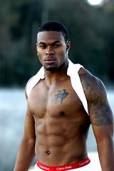 Hot Man Black Sensation WOWZA (Jaclyn Diva) Tags: handsomemen hunkalicious hunkymen attractivemen jaclyndiva underwearmalemodels