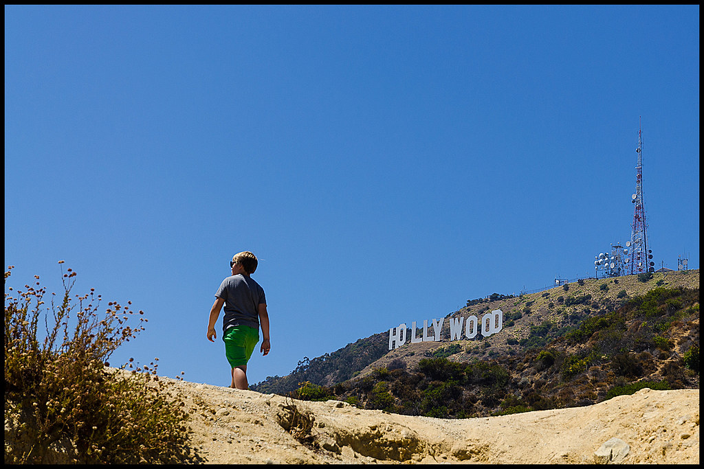 Hollywood Sign walk - Hollywood Sign walk