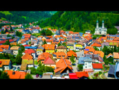 Small town (Sibilus_Basilea) Tags: black forest toy deutschland town little small shift planet tilt schwarzwald tiltshift sddeutschland todtnau