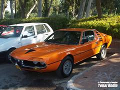 Alfa Romeo Montreal (Yohai_Rodin) Tags: classic cars car club israel 5 five tel aviv ישראל מכונית מועדון מכוניות קלאסית קלאסיות החמש