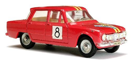 Dinky F Giulia rally