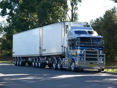 Bakoulis Transport SA (Bourney123) Tags: transport interstate sa southaustralia kenworth haulage cabover bdouble bakoulis