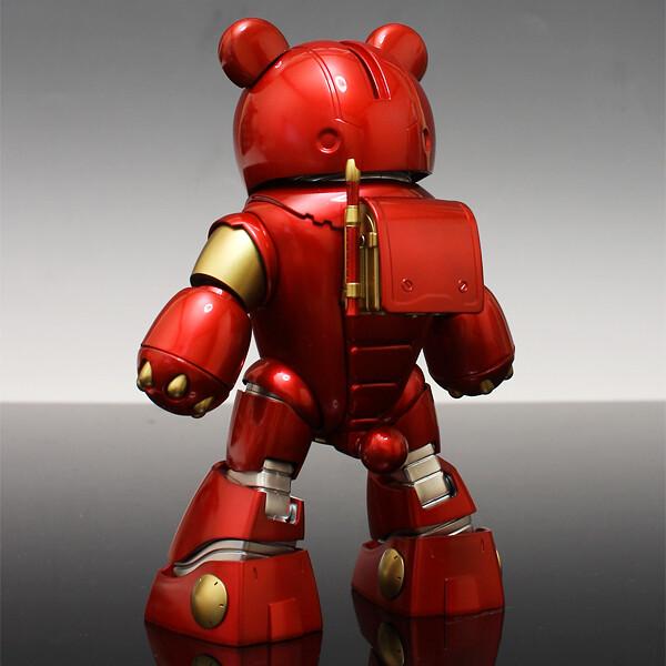 Bearvengers Series no.1 IRON-BEAR 鋼鐵熊