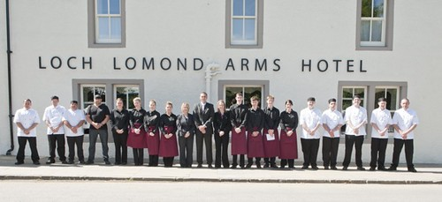 Loch Lomond Arms Hotel open 1