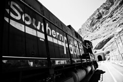 Life on a Railway : Southern Pacific lifestyle (NeoAntares (away for a while)) Tags: lines train vintage utah pacific railway southern moab f4 24105mm canon24105mmlusm 5dmarkiii