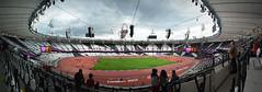 Inside the Olympic Stadium Panoramic (JPhotos73) Tags: london photoshop panoramic olympics olympicstadium london2012 youngphotographers theorbit sigma18200mm photostitching youngphotographer nikond5100