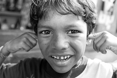 Rich with smiles in the Calcutta slums (Eye In The Sky Photography) Tags: india youth child homeless poor kolkata calcutta slum slumdog
