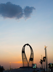 IMG_1540 (Wisssss) Tags: morning sunrise early roundabout astronomy jeddah jiddah