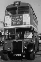 RT44 at Brighton early 60's. (Ledlon89) Tags: bus london 60s brighton londonbus londontransport aec rtbus alltypesoftransport