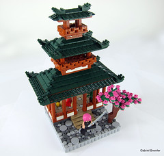 Japanese Teahouse! (Lego.Skrytsson) Tags: japan lego ninja creation teahouse moc