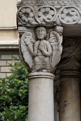 Il chiostro di sant'Andrea (a_marga) Tags: genova genoa liguria italia italy casa cristobal colon cristoforo colombo columbus chiostrodisantandrea