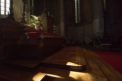Light Entering (MrBlackSun) Tags: abbey abbaye abbatiale saintrobert chaisedieu clement vi france auvergne hauteloire nikon d810