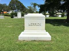 Merrick Family Gravestone Woodlawn Park Cemetery Miami (Phillip Pessar) Tags: woodlawn park cemetery north miami merrick family gravestone