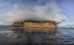 Vesturhorn (Jackie Tran Anh) Tags: vesturnhorn batman mountains iceland island landscape longexposure europe outdoor water clouds cloudy sky