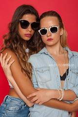 Desire & Valentine (Alessandro Carabillo') Tags: blond girls nikon wwwalessandrocarabillocom italy studio light red blonde sicily session fashion model d700 girl posa lens lips persone interni brunette sunglasses