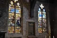 Bruges: Jerusalem Church (zug55) Tags: bruges brugge brgge flanders flandres flandern belgium belgique belgi belgien unescoworldheritagesite worldheritagesite unesco welterbe werelderfgoed jeruzalemkerk jerusalemchurch peperstraat adornes gothic gotisch gotik jeruzalemkapel jerusalemchapel adorni vlaanderen westflanders westvlaanderen glass stainedglass window stainedglasswindow