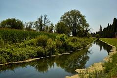 Aquileia reflected (giocake) Tags: