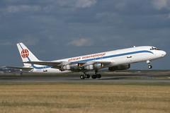 3D-AFR-1-EDDF-29AUG1994 (Alpha Mike Aviation Photography) Tags: african international airways aia douglas dc8 3dafr frankfurt main fra eddf
