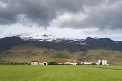 Farm at the foot of Eyjafjallajokull (mark @ teamup) Tags: eyjafjallajkull iceland farmateyjafjallajokull