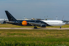 [ORY] Titan-Airways Boeing 767-300 _ G-POWD (thibou1) Tags: thierrybourgain ory lfpo orly spotting aircraft airplane nikon d7100 tamron sigma titanairways boeing boeing767 b767 b767300 gpowd takeoff dcollage