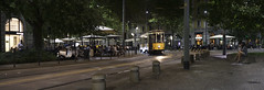 Milano Nights (Lee Sie) Tags: tram italy milan milano street lights people cafes city life urban outdoors