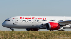 B787 Kenya Airways 5Y-KZA (Mav'31) Tags: 26l adp airliners airplanes airport aviation avions aroport aroportsdeparis cdg charlesdegaulle jromevinonneau jrmevinonneau lfpg mav31 paris planes spotter spotting z4 aircraft avgeek doubletsud b787 kenya airways 5ykza boeing b7878 dreamliner