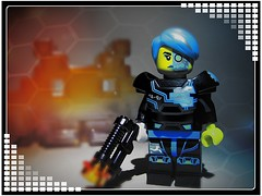 Space Invaders (LegoKlyph) Tags: lego custom space videogame 80s scifi robot alien 8bit