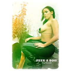 PEEK-A-GIRL! (welovepeekaboo) Tags: peekaboo sexy accesories pezoneras pasties nippies peekagirl photoshooting tattoo model buenosaires argentina welovepeekaboo