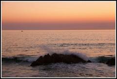 Crpuscule sur l'le de Noirmoutier (Vende) (Les photos de LN) Tags: crpuscule couleurs lumire rochers cume mare ocanatlantique ledenoirmoutier vende
